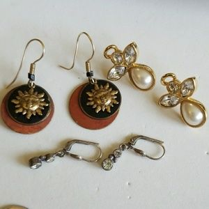 3 pairs MIX of earrings